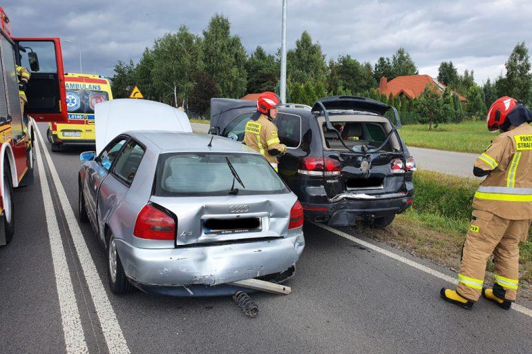 Uszkodzone pojazdy
