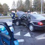 wypadek drogowy DK19